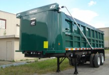 Steel Body Steel Frame Dump Trailers